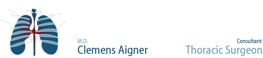 Clemens Aigner, M.D. - Professor of Thoracic Surgery